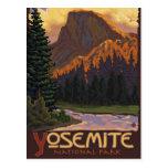 Yosemite National Park - Half Dome - Vintage