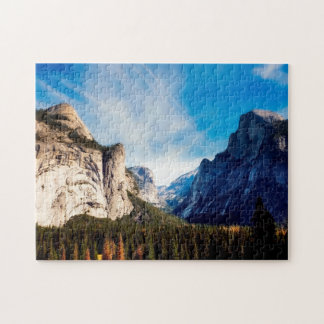Yosemite national park. jigsaw puzzle