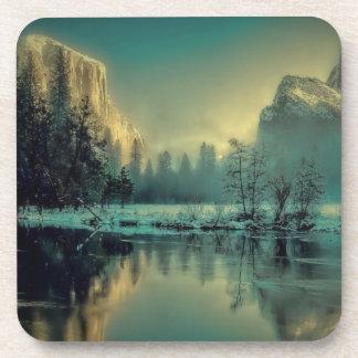 Yosemite national park landscape coaster