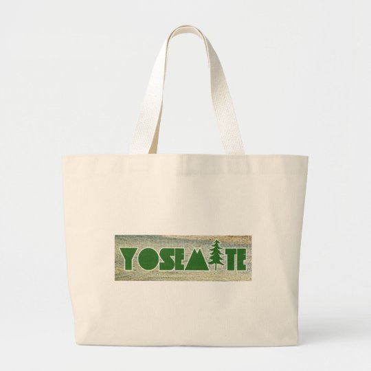 Yosemite National Park Large Tote Bag