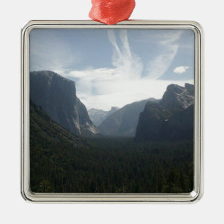 Yosemite National Park Metal Ornament