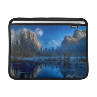 Yosemite national park moonlit night sleeve for MacBook air