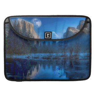 Yosemite national park moonlit night sleeve for MacBooks