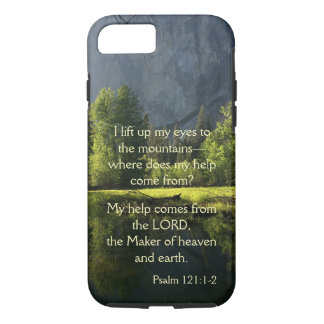 Yosemite National Park Psalm Phone Case