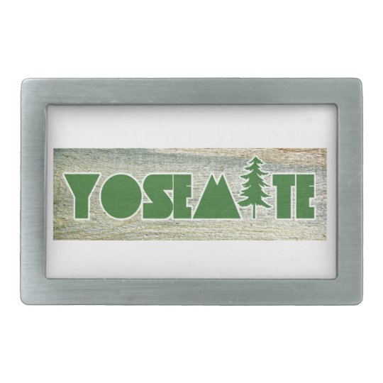 Yosemite National Park Rectangular Belt Buckle