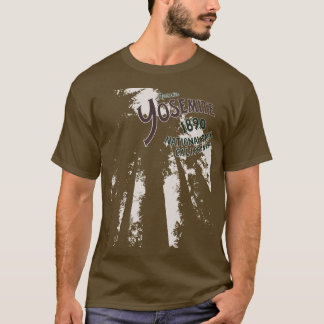 Yosemite National Park Sequoias Tee Shirt