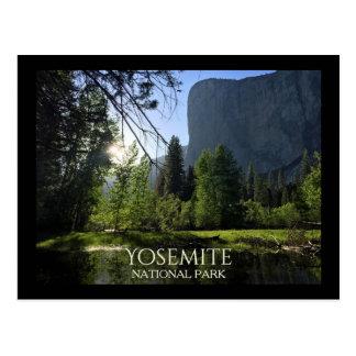 Yosemite National Park Tourist Postcard