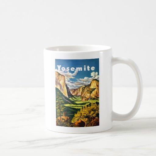 Yosemite National Park Travel Art Mug