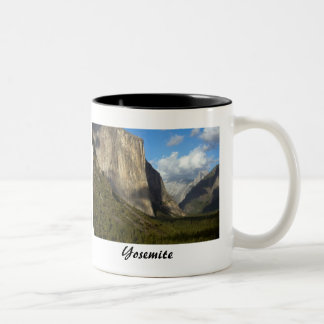 Yosemite National Park Two-Tone Coffee Mug