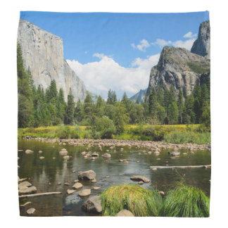 Yosemite National Park Valley View Bandana
