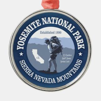 Yosemite NP Metal Ornament