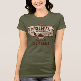 Yosemite Old Photo Pano T-Shirt