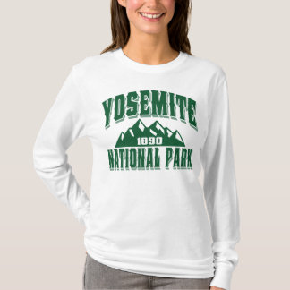 Yosemite Old Style Green T-Shirt
