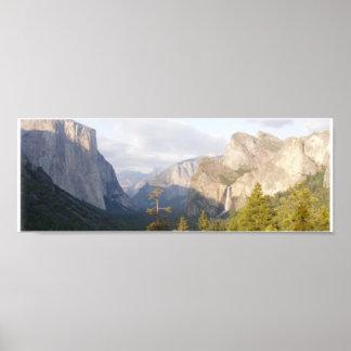 Yosemite Panorama Poster