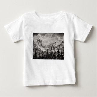 Yosemite Park in Winter Baby T-Shirt
