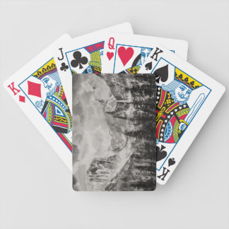 Yosemite Park in Winter Bicycle Playing Cards