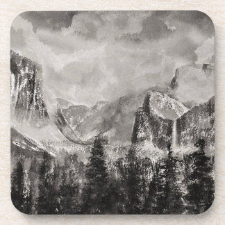 Yosemite Park in Winter Coasters