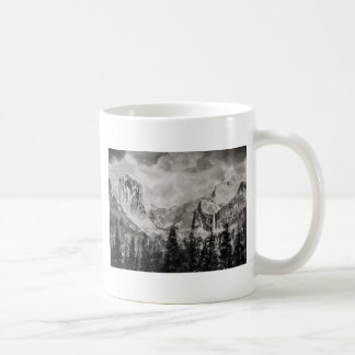 Yosemite Park in Winter Coffee Mug