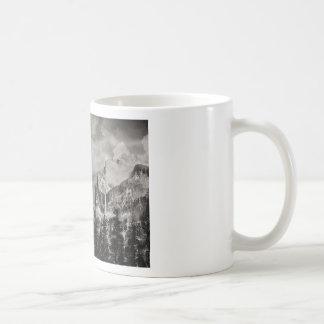 Yosemite Park in Winter Coffee Mug