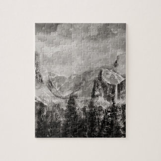 Yosemite Park in Winter Jigsaw Puzzle