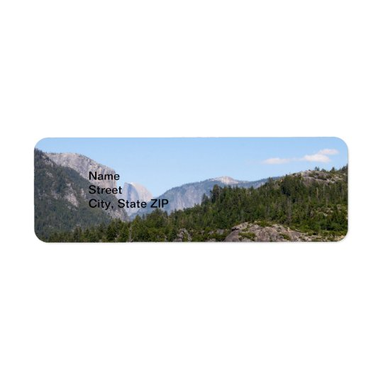 Yosemite Return Address Label