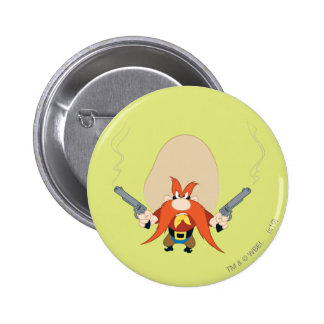 Yosemite Sam Back Off 6 Cm Round Badge