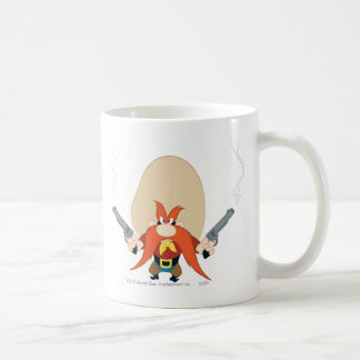 Yosemite Sam Back Off Basic White Mug