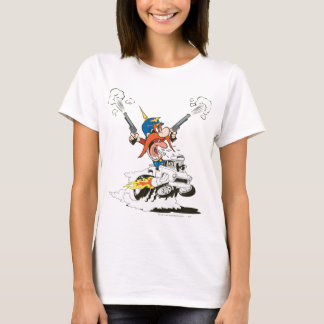 Yosemite Sam Guns Firing T-Shirt