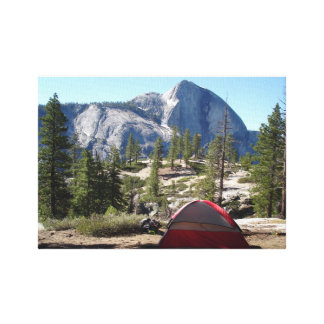 Yosemite, snow creek by Chartier Gallery Wrapped Canvas