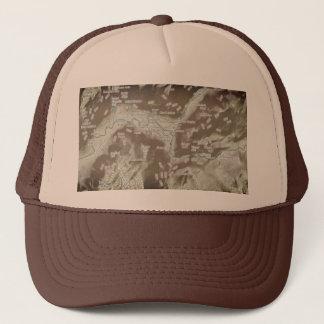 Yosemite Topo Trucker Hat