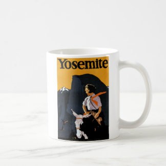 Yosemite Travel Poster Coffee Mug