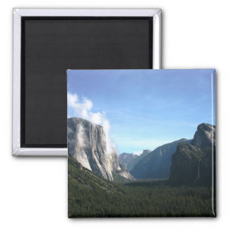 Yosemite tunnel view magnet
