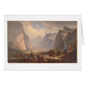 Yosemite Valley, California (0710A) Greeting Card