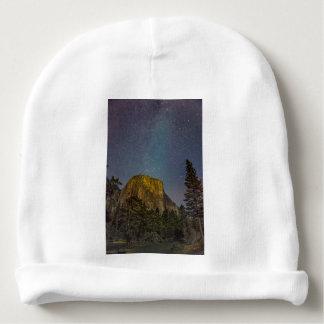 Yosemite Valley El Capitan night sky Baby Beanie