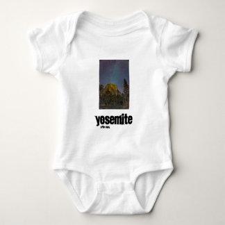 Yosemite Valley El Capitan night sky Baby Bodysuit