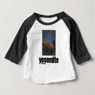 Yosemite Valley El Capitan night sky Baby T-Shirt