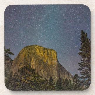 Yosemite Valley El Capitan night sky Coaster