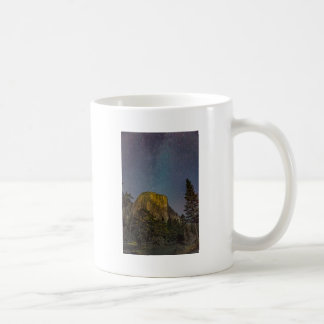 Yosemite Valley El Capitan night sky Coffee Mug