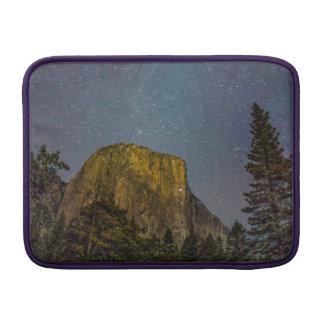 Yosemite Valley El Capitan night sky MacBook Sleeve
