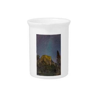 Yosemite Valley El Capitan night sky Pitcher