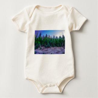 Yosemite Valley Forest & Sky Baby Bodysuit