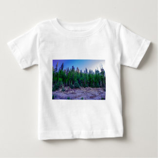 Yosemite Valley Forest & Sky Baby T-Shirt