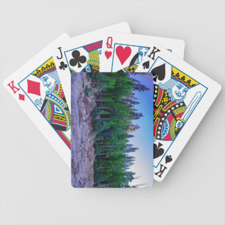Yosemite Valley Forest & Sky Bicycle Playing Cards