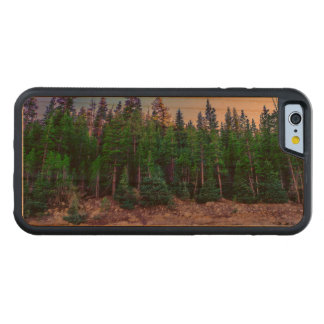 Yosemite Valley Forest & Sky Carved Cherry iPhone 6 Bumper Case