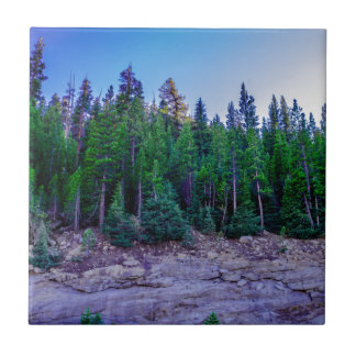 Yosemite Valley Forest & Sky Ceramic Tile