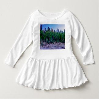 Yosemite Valley Forest & Sky Dress