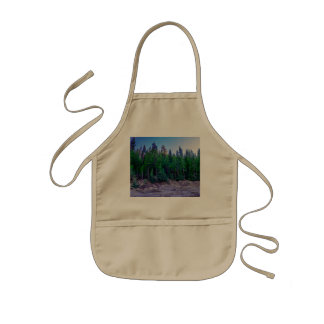 Yosemite Valley Forest & Sky Kids Apron