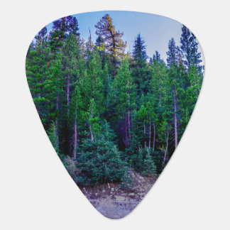 Yosemite Valley Forest & Sky Plectrum