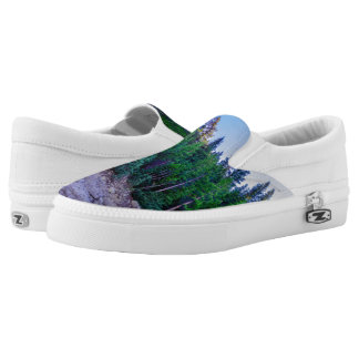 Yosemite Valley Forest & Sky Printed Shoes