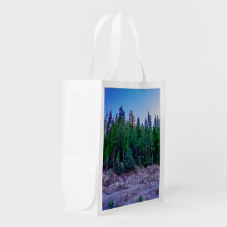 Yosemite Valley Forest & Sky Reusable Grocery Bag